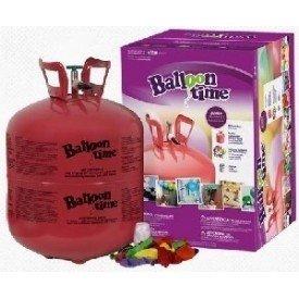 Botella de helio desechable grande