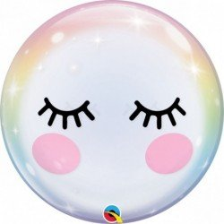 22 pulg. (55,8cm) Single Bubble 01Ct EyelashesQL-13009 Qualatex