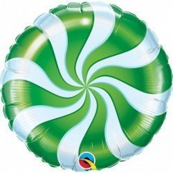 18 pulg. (45,7cm) Rnd 01Ct Candy Swirl Green (BP)