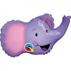 14 pulg. (35,5cm) Shape Elated Elephant (BP)