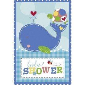 Invitaciones (8) Baby Blue