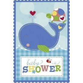 Invitaciones (8) Baby Blue491117 Amscan