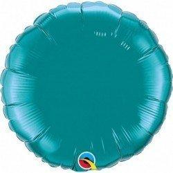 Globo color Verde Azulado Teal de 45 cm
