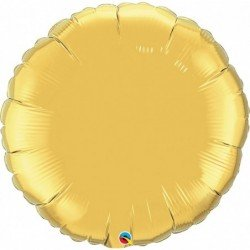36 pulg. (91,4cm) Rnd St Metallic Gold Plain Foil (BP)