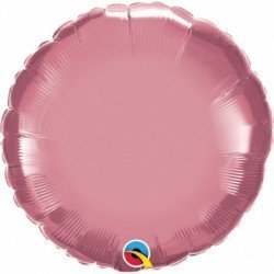 18 pulg. (45,7cm) Globo 01Ct Chrome Mauve Plain Foil (BP)
