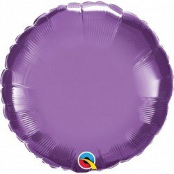 18 pulg. (45,7cm) Globo St Chrome Purple Plain Foil (BP)