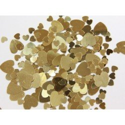 Confetti Gold Hearts (BP)