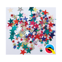 Confetti MultiColoured Estrellas (BP)