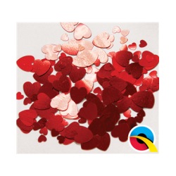 Confetti Red Hearts (BP)