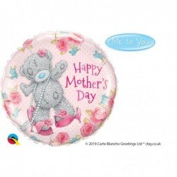 18 pulg. (45,7cm) Rnd 01Ct Tatty Teddy Mother'S Day (BP)QL-11688 Qualatex