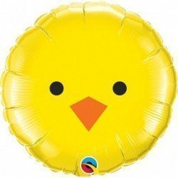 18 pulg. (45,7cm) Rnd 01Ct Baby Chick (BP)QL-23980 Qualatex