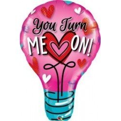 40 pulg. (101,6cm) Shape 01Ct You Turn Me On! (BP)QL-46052 Qualatex
