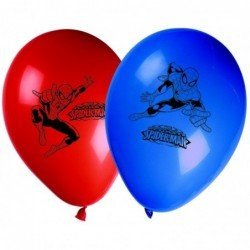 Globos Latex Impresos Ultimate Spiderman Web Warriors (8)