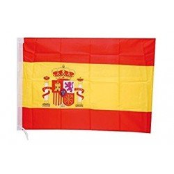Bandera de España de 90 x 60 cm aprox de Tela