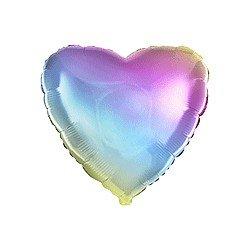 Globo Corazón Colores Degradados de 78 cm Ultra