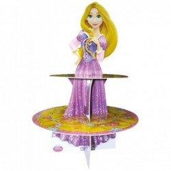 Expositor Princesas Disney Rapunzel 3D Cupcake Stand (1)