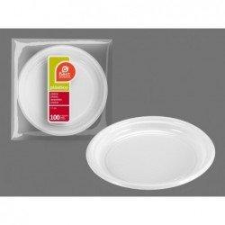 Platos Blancos para postre de 17 cm (100 ud)J-240300 JBP