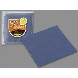 Servilletas Azul Real doble capa de 40 x 40 cm (50ud)J-10100 JBP