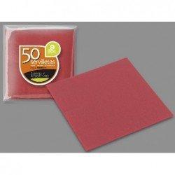 Servilletas Roja doble capa de 40 x 40 cm (50ud)J-10099 JBP