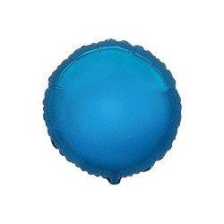 Globo Circulo Azul de 45cm Estándar