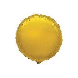 Globo Circulo Dorado / Oro de 45cm Estándar