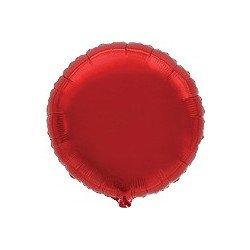 Globo Circulo Rojo de 45cm Estándar