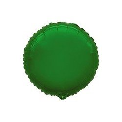 Globo Circulo Verde de 45cm Estándar
