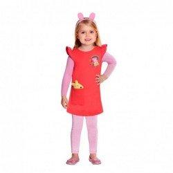 Disfraz Peppa Pig Talla 4-6 Años