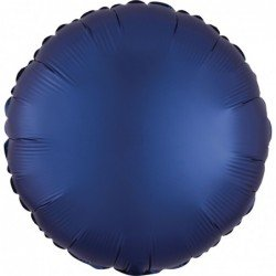 Globo Circulo color satin Azul Naval de 45cm