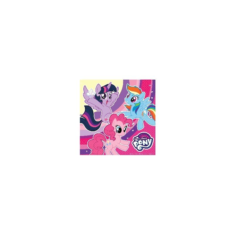 Servilletas de My little Pony 33x33 (20)