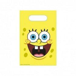 Bolsa de Papel Bob esponja para Chuches / Juguetes (6)
