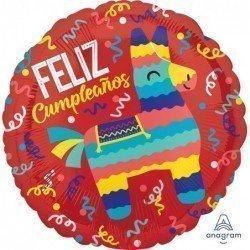Globo Feliz cumpleaños Fiesta de 45 cm aprox