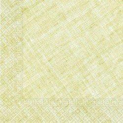 Servilletas grandes color Verde Lima de Triple Capa tacto textil Ecofriendly compostables (20)