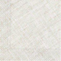 Servilletas grandes color Crema de Triple Capa tacto textil Ecofriendly compostables (20)