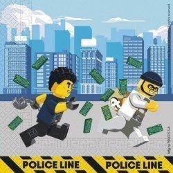 Servilletas Lego City 33x33 (20)