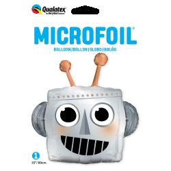 Globo forma Cabeza de Robot de 89 cm Aprox