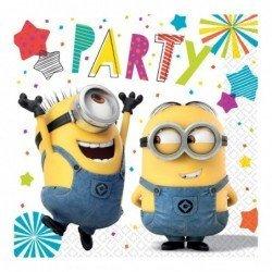 Servilletas Minions Party (20)