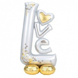 Globo Love Wedding Airloonz de 147 x 73 cm aprox4246511 Anagram