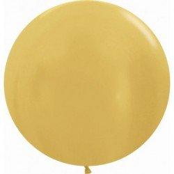 Globos Dorado Metalizado R24 de 60 cm aprox (10 ud)