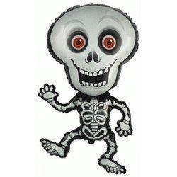 Globo Esqueleto de 100x62cm