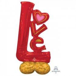 Globo Love Rojo de 147 x 73 cm Airloonz4237111 Anagram