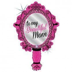 "Globo Espejo ""To my Beautiful Mom"" de 99cm"
