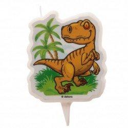 Vela Dinosaurio de 7,5cm aprox.