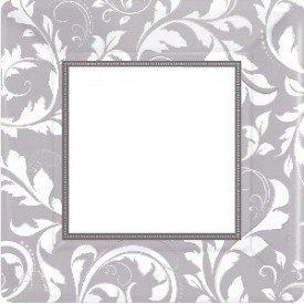 PLATOS (8) 25,4 cm Bodas de Plata 25 aniversario
