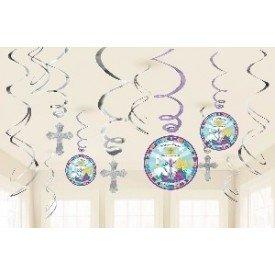 Decorados Espirales Comunión/Bautizo670417 Amscan