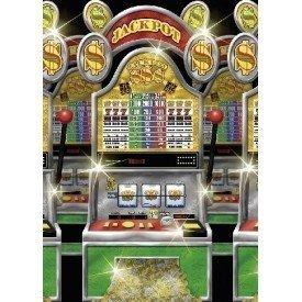 Decoracion Pared Rollo Casino de 1.2m x 12.1m673017 Amscan