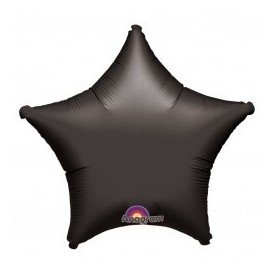 Globo Con Forma de Estrella de Aprox 45cm Color NEGRO -