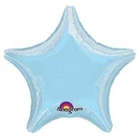 Globo Con Forma de Estrella de Aprox 47cm Color AZUL PASTEL