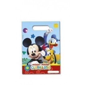 Bolsas (6) Chuches/Juguetes Club Disney Mickey