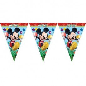 Banderines Triangulos de 3,5 m de Club disney Mickey81515 Procos